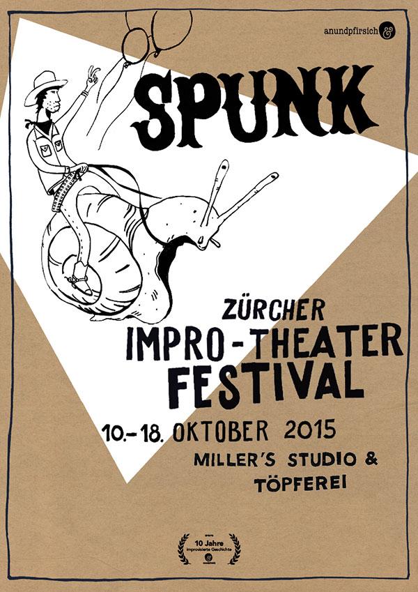 SPUNK - Zürcher Improtheater Festival 2015